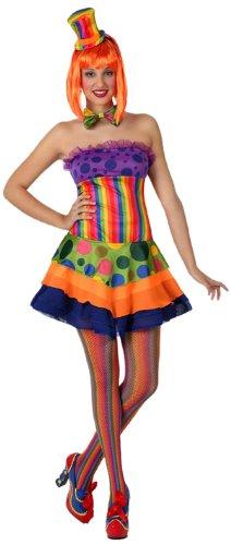 atosa 15671 costume da clown donna, adulto t-2 (m/l)