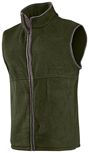 Baleno Men's Harvey Gilet sans manches en polaire vert