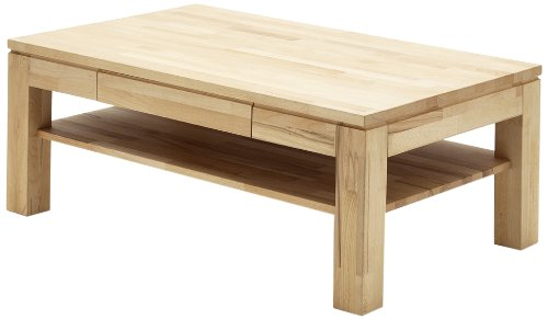 Robas Lund 58722KB5 Julian Table Basse Hêtre/Bois Massif Kernbuche 70 x 115 x 45 cm