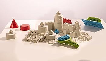 Goliath 83219 - Super-sand-set Castle, Modellierbarer Magischer Sand Bringt Burgen Ins Kinderzimmer, Handliche Sandkasten-box, Bunte Burg-förmchen, Ab 4 Jahren 14