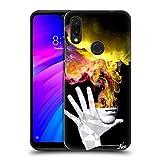 Head Case Designs Ufficiale LouiJoverArt La Fuga Fuoco E Fumo Cover Dura per Parte Posteriore Compatibile con Xiaomi Redmi 7 (2019)