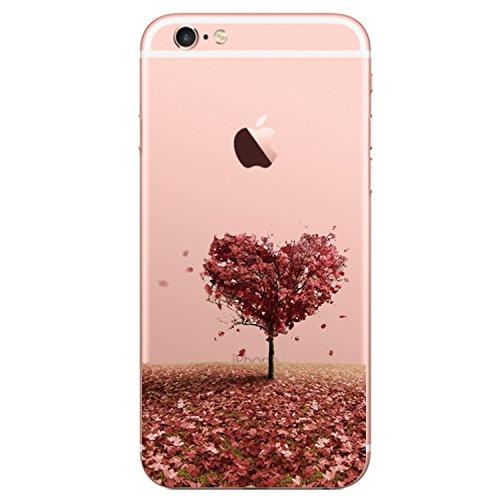 Coque iPhone 6 Plus/6S Plus,Vanki® Modèle simple Housse TPU Souple Etui de Protection Silicone Case Soft Gel Cover Anti Rayure Anti Choc pour Iphone 6 Plus/6S Plus 1