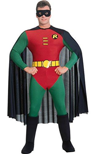 Rubie's Offizielles Robin-Kostüm, Klassischer Batman, Kostüm für Erwachsene–Größe: S