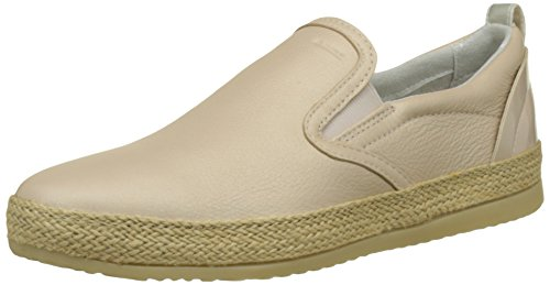 Geox D Maedrys A, Sneakers Basses Femme Beige (SKINC8182)