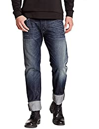 Diesel Men's Darron 0Rz31 Regular Slim-Tapered Denim Jean Black