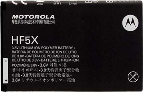 Motorola SNN5890A SNN5890 Battery for HF5X Defy XT Photon 4G Electrify - Original OEM - Non-Retail Packaging - Black