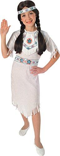 Disfraz de Princesa India Apache para niña, Talla S...