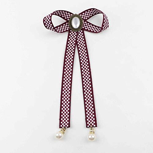 Fliegen Kopf Kostüm - ZHAOSHUNAN Krawatten Fliege Dame Kopf Band Quaste Schickes Mädchen Kostüm Kragen Mädchen Fliege @ D