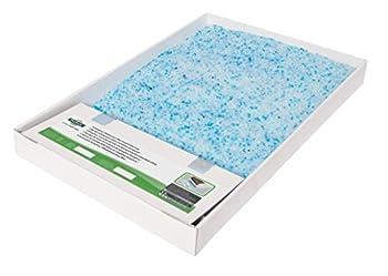 PetSafe - Bac de Rechange Litière Absorbante et Anti-Odeur pour Chat Scoopfree Cristal Bleu - 1 Paquet