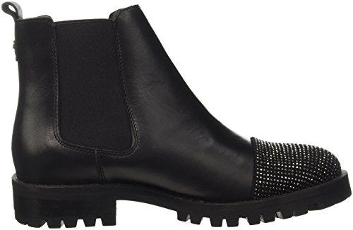 Guess Medea, Chaussures de Gymnastique Femme Noir (Nero)
