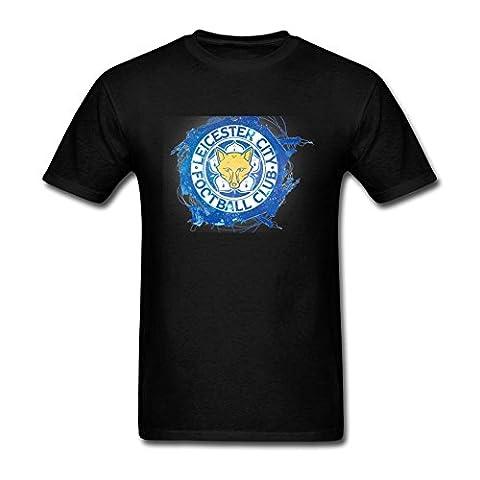 UKC5BD Men's Leicester City FC Champions T Shirt