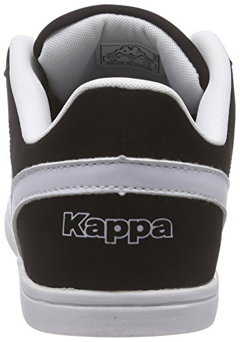 Kappa Tasu, Baskets Basses Femme Noir - Schwarz (1110 BLACK/WHITE)