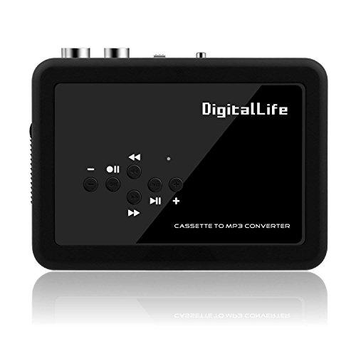 USB MP3 Kassette/Kassettenspieler Konverter Direkt zu USB-Flash - Allein Stehen Tape to MP3 Musik Converter Audio Recording Device (Portable Walkman)