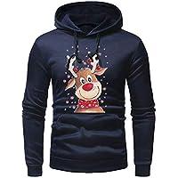 Geili Herren Weihnachten Pullover Kapuzenpullover Christmas Elch Gedruckt Hoodie Herbst Winter Freizeit Langarm... preisvergleich bei billige-tabletten.eu