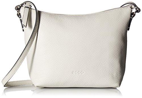 Ecco Damen Sp Small Crossbody Umhängetasche, 8x18x25 cm Weiß (White)