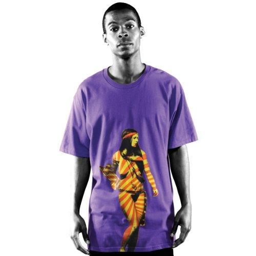 T-Shirt Emerica Hippie Chick Thé SS Violet