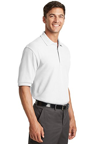 Port Authority -  Polo  -  Vestito modellante  - Uomo White