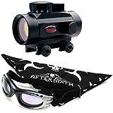 Pack Visor Gamo Quick Shot BZ-30. Punto rojo + gafas antivaho. Especial para tiro deportivo
