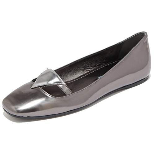 8297I PRADA ballerina scarpa donna shoes woman grigio antracite [38.5]