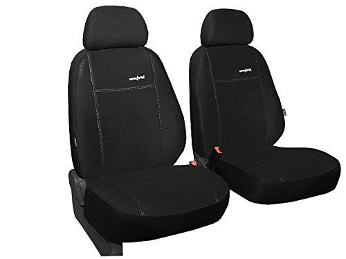 POK-TER-TUNING Vordersitzbezüge ALKANTRA Comfort Super Qualität, Passend für Honda CRV - in Diesem Angebot Schwarz (in 3 Farben Bei Anderen Angeboten erhältlich) - Insight Honda Auto Sitzbezüge