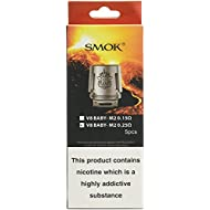 Authentic SMOK TFV8 V8 Baby Replacement M2 Coils 0.25Ohm Head (5-Pack)