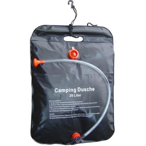 Camping Solar Dusche 20l Reisedusche Campingdusche Solardusche Gartendusche