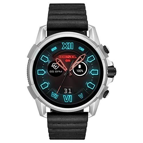 Diesel Herren-Smartwatch mit Leder Armband DZT2008 -