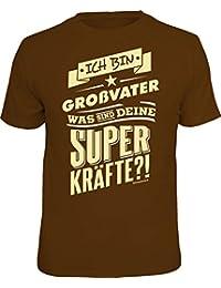 Das T-Shirt für den Opa: ich bin Großvater, was sind deine Superkräfte?