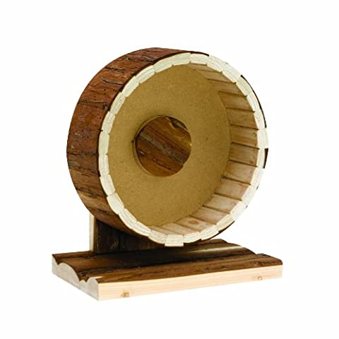 Living World Real Wood Exercise Wheel for Small Animals