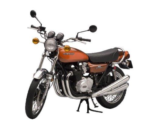 Kawasaki 900 Super 4 (Z1) (Candy Brown/Orange) (Diecast model)