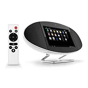 Wander USA Sound Pad Stereo - Lettore Multimediale SoundPad Android 5.1 Lollipop Tablet PC + Altoparlante WiFi Wireless Bluetooth Speaker - 1024x600 Display, 8 GB ROM