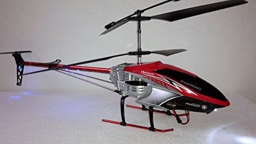 *RC 3,5 Kanal Hubschrauber FLYING EAGLE 8099 ferngesteuerter Helikopter Heli LED riesige 78cm Länge – neues Modell – Alu Chassis – RTR*