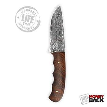 Cuchillo de caza con hoja...