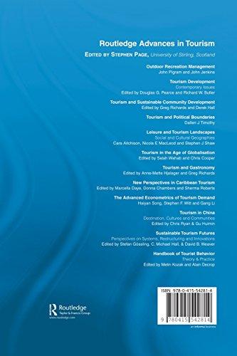 Handbook of Tourist Behavior: Theory & Practice (Routledge Advances in Tourism)