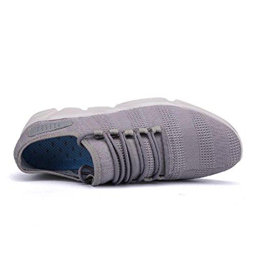 Herren Atmungsaktiv Laufschuhe Draussen Sportschuhe Lässige Schuhe Ausbildung Grey