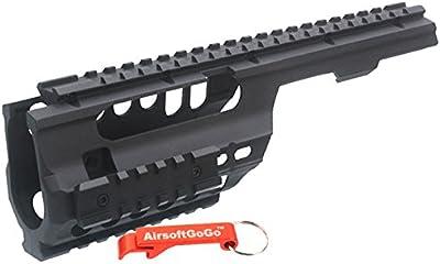ABS Pl?stico MP5K / PDW, MOD5K Riel para Airsoft Marui, JG, Classic Army, Galaxy AEG - AirsoftGoGo Llavero Incluido
