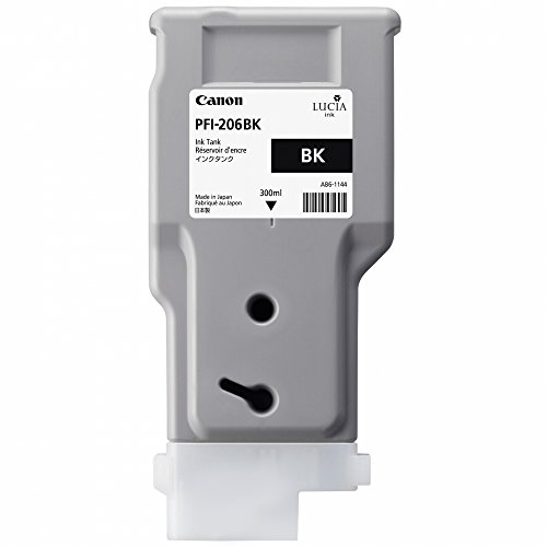 Canon PFI206BK passend für IPF6400 Fototinte Schwarz 5303B001 300ml pigmentiert