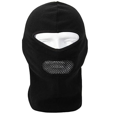 Balaclava Face Mask - Moto Bike Bicycle Driving Motorcycle Ski Cycling Running Sport - Winter Snowboard Full Mask - Neck Warmer Protection