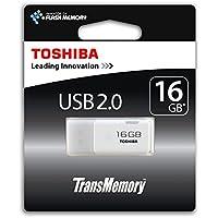 Toshiba TransMemory 16GB USB 2.0 Stick, weiß