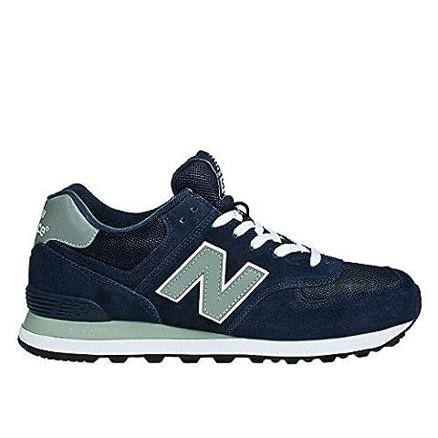 New Balance M_W574, Herren Sneakers, Blau (Blue), 40 EU (6.5 Herren UK)
