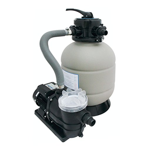 Sandfilter Sandfilteranlage Filter Pumpe 6m³/h inkl. Filterbällen (besser als reine Sandfilteranlage)