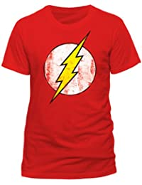 DC Comics Men's The Flash Logo T-Shirt