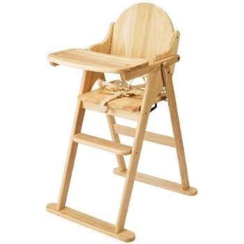 Wonderful East Coast Folding Highchair (Natural All Wood)