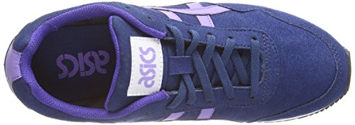 Asics Curreo, Damen Sneakers Blau (dark Blue/aster Purple 5835)