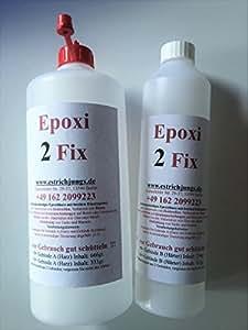 epoxi 2 fix epoxidharz rissharz giessharz 1000g baumarkt. Black Bedroom Furniture Sets. Home Design Ideas