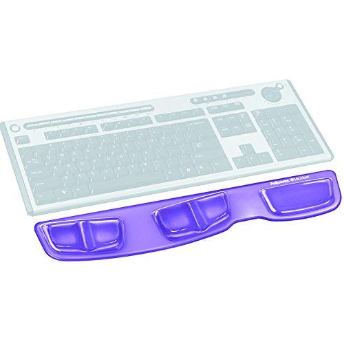 Fellowes Health-V Crystals Tastatur-Handgelenkauflage violett