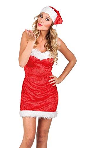 Boland Erwachsenenkostüm - Lady Santa Kleid Für Erwachsene Kostüm