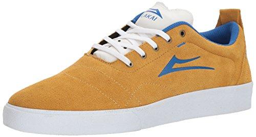 Lakai Limited Footwear MensBRISTOL - Bristol Unisex-Erwachsene, Gelb (Gold/Blue Suede), 38.5 EU Medium