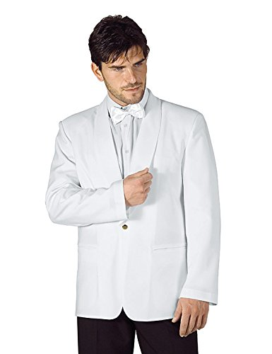 Isacco - Veste Hotellerie Homme Scialle Blanc Blanc