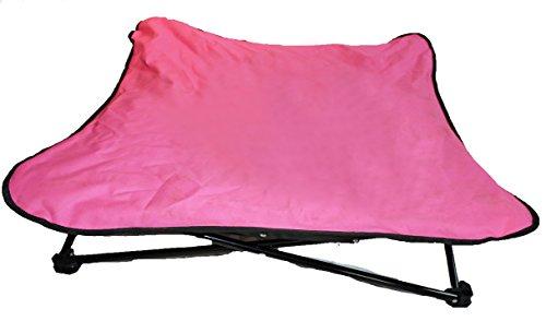 Glenndarcy sollevato letto imbottito dog–elevati/portatile/pieghevole–ideale per campeggio/allenamento